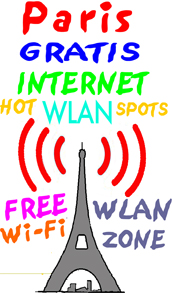 PARIS GRATIS WLAN HOTSPOTS TARIFE ROAMING