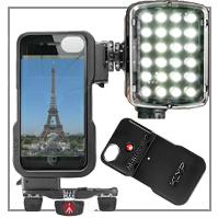 Manfrotto KLYP® Case + Licht für iPhone®