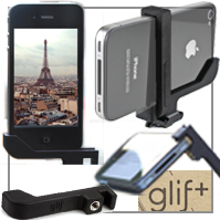 Genialer iPhone Stativ- Adapter: GLIF!