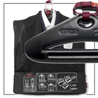 Kleidersack/ geniale Anzugtasche LAT56 SPS™ [Suit Packing System]