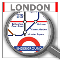 Karte Tube Map London