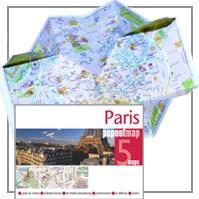 MINI-STADTPLAN IM KREDITKARTENFORMAT - POPOUT MAP PARIS