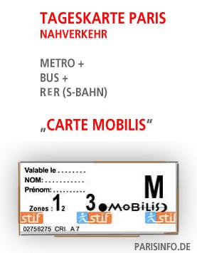 paris metro preise