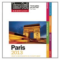 TIME OUT SHORTLIST GUIDE PARIS